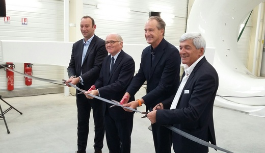 Coupure ruban inauguration multiplast
